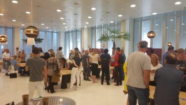 World Café bij bijeenkomst UX & scrum #hoedan?