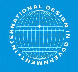 Decoratieve afbeelding: Logo international design in government