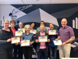Deelnemers spelleidercursus Groningen