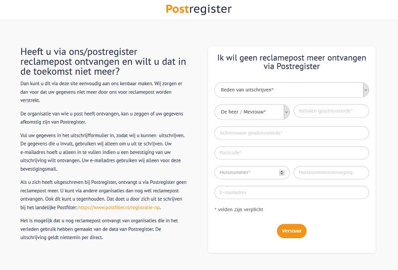 Postregister.nl