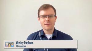 Wesley Poelman aan het woord