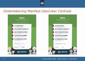 Manifest Gebruiker Centraal ondertekend door CIBG