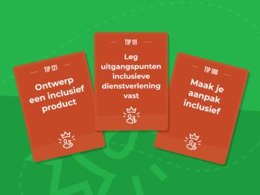 Tipkaarten van het Optimaal Digitaal spel