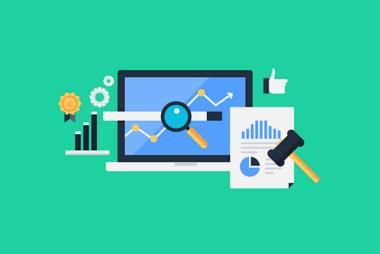 Fictieve afbeelding webanalytics